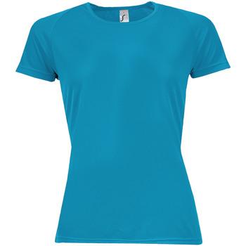 Abbigliamento Donna T-shirt maniche corte Sols 01159 Acqua