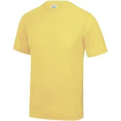 Abbigliamento Uomo T-shirt maniche corte Awdis JC001 Limone