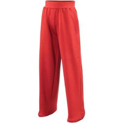 Abbigliamento Unisex bambino Pantaloni da tuta Awdis  Rosso fuoco