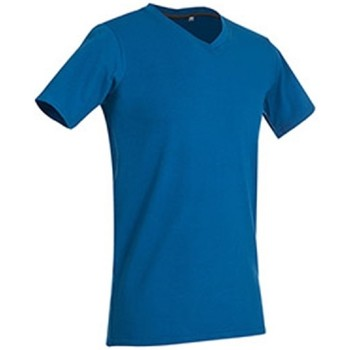 Abbigliamento Uomo T-shirt maniche corte Stedman Stars Clive Blu reale