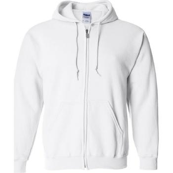 Abbigliamento Uomo Felpe Gildan 18600 Bianco