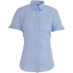 Abbigliamento Donna Camicie Brook Taverner BK133 Azzurro cielo