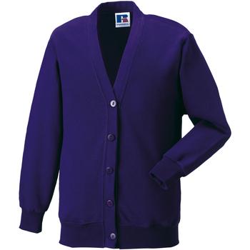 Abbigliamento Unisex bambino Gilet / Cardigan Jerzees Schoolgear 273B Viola