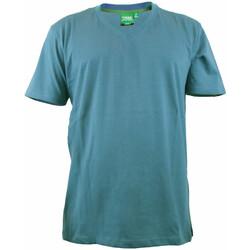 Abbigliamento Uomo T-shirt maniche corte Duke Signature-2 Azzurro foglia di tè