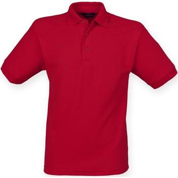 Abbigliamento Uomo Polo maniche corte Henbury HB400 Rosso Vintage