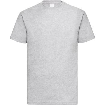 Abbigliamento Uomo T-shirt maniche corte Universal Textiles 61036 Grigio screziato