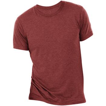 Abbigliamento Uomo T-shirt maniche corte Bella + Canvas CA3413 Cardinale