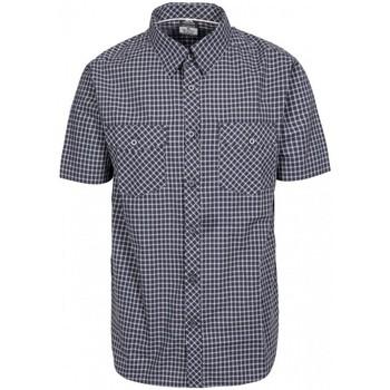Abbigliamento Uomo Camicie maniche corte Trespass Uttoxeter Grigio scuro