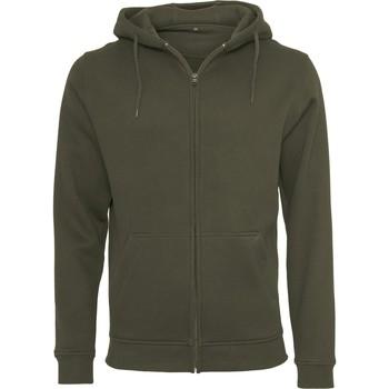 Abbigliamento Uomo Felpe Build Your Brand BY012 Oliva