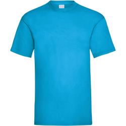 Abbigliamento Uomo T-shirt maniche corte Universal Textiles 61036 Blu ciano