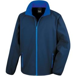 Abbigliamento Uomo Giubbotti Result R231M Blu navy/Blu reale