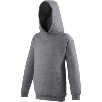 Abbigliamento Unisex bambino Felpe Awdis JH01J Carbone