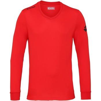 Abbigliamento Uomo T-shirts a maniche lunghe Lotto Jersey Fiamma