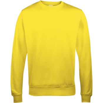 Abbigliamento Uomo Felpe Awdis JH030 Giallo