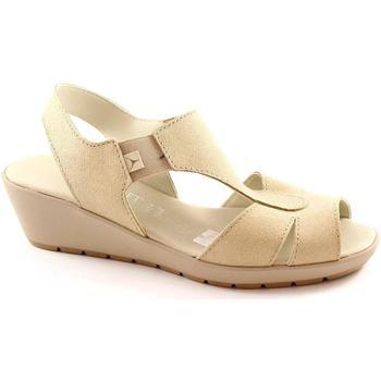 Sandali Cinzia Soft  8143 beige scarpe sandali donna comfort passeggio