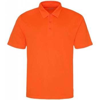 Abbigliamento Uomo Polo maniche corte Awdis JC040 Arancio elettrico