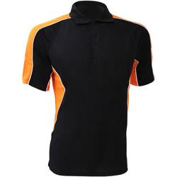 Abbigliamento Uomo Polo maniche corte Gamegear KK938 Nero/Arancio