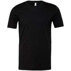 Abbigliamento Uomo T-shirt maniche corte Bella + Canvas CA3001 Nero screziato
