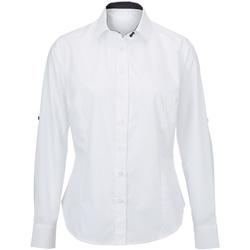 Abbigliamento Donna Camicie Alexandra AX060 Bianco/Nero
