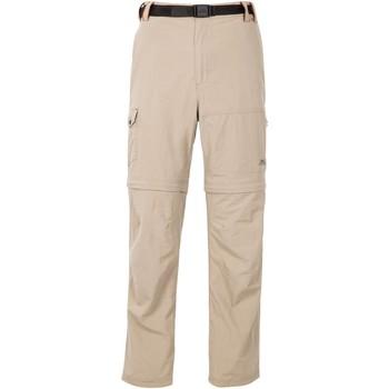 Abbigliamento Uomo Pantalone Cargo Trespass Moskitophobia Beige