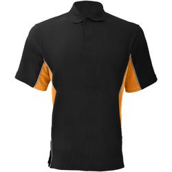 Abbigliamento Uomo Polo maniche corte Gamegear KK475 Nero/Arancio/Bianco