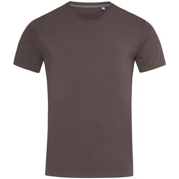 Abbigliamento Uomo T-shirt maniche corte Stedman Stars  Marrone scuro