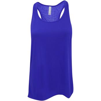 Abbigliamento Donna Top / T-shirt senza maniche Bella + Canvas BE8800 Blu reale acceso