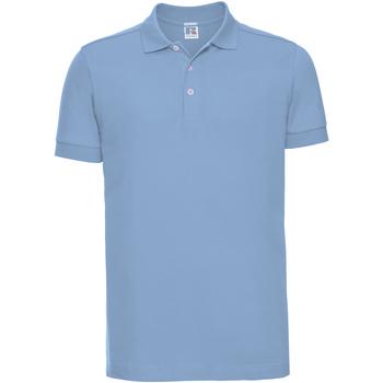 Abbigliamento Uomo Polo maniche corte Russell 566M Azzurro cielo