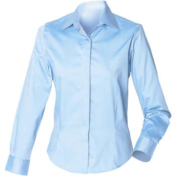 Abbigliamento Donna Camicie Henbury HB551 Azzurro