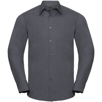 Abbigliamento Uomo Camicie maniche lunghe Russell 924M Grigio