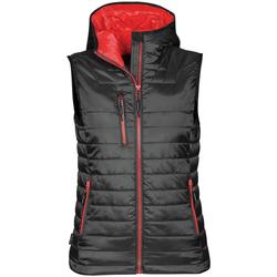 Abbigliamento Donna Gilet / Cardigan Stormtech PFV-2W Nero/Rosso