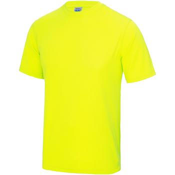 Abbigliamento Unisex bambino T-shirt maniche corte Awdis JC01J Giallo elettrico