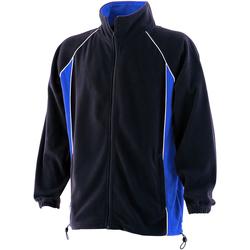 Abbigliamento Uomo Felpe in pile Finden & Hales LV550 Blu navy/Blu reale/Bianco