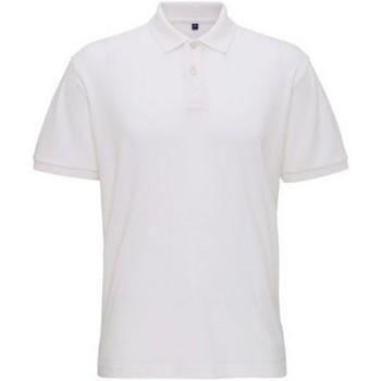 Abbigliamento Uomo Polo maniche corte Asquith & Fox AQ005 Bianco