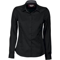 Abbigliamento Donna Camicie J Harvest & Frost JF006 Nero/Rosso