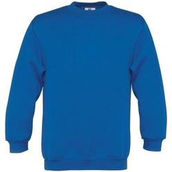 Abbigliamento Unisex bambino Felpe B And C B401B Blu reale