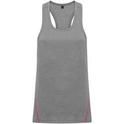 Abbigliamento Donna Top / T-shirt senza maniche Tridri TR041 Grigio melange