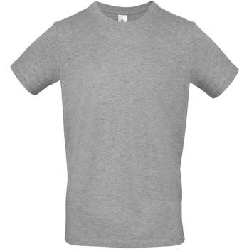Abbigliamento Uomo T-shirt maniche corte B And C TU01T Grigio Sport