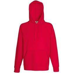 Abbigliamento Uomo Felpe Fruit Of The Loom 62140 Rosso