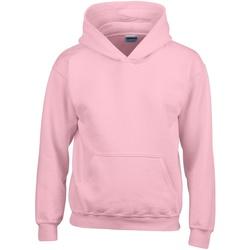 Abbigliamento Unisex bambino Felpe Gildan 18500B Pink chiaro
