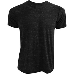 Abbigliamento T-shirt maniche corte Bella + Canvas CA3650 Nero SCR