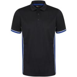 Abbigliamento Uomo Polo maniche corte Finden & Hales TopCool Blu/Blu reale/Bianco