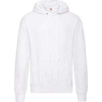 Abbigliamento Uomo Felpe Fruit Of The Loom 62208 Bianco