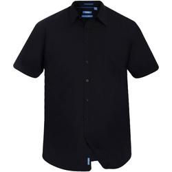 Abbigliamento Uomo Camicie maniche corte Duke  Nero