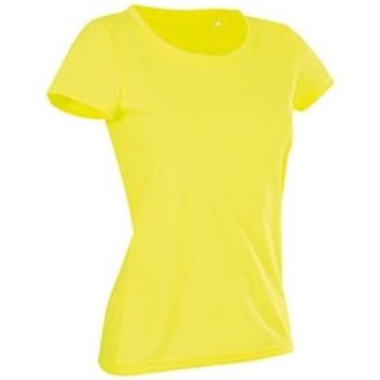 Abbigliamento Donna T-shirt maniche corte Stedman Cotton Touch Giallo
