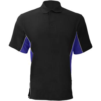 Abbigliamento Uomo Polo maniche corte Gamegear KK475 Nero/Blu reale/Bianco