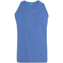 Abbigliamento Uomo Top / T-shirt senza maniche Duke  Blu