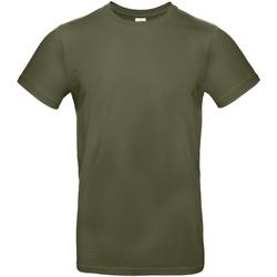 Abbigliamento Uomo T-shirt maniche corte B And C TU03T Khaki Urban