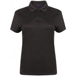 Abbigliamento Donna Polo maniche corte Henbury HB461 Grigio scuro