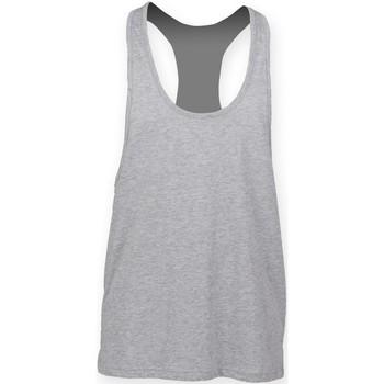 Abbigliamento Uomo Top / T-shirt senza maniche Skinni Fit SF236 Erica grigia